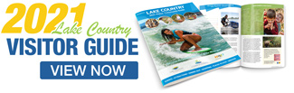 View the 2021 Lake Country Visitor Guide
