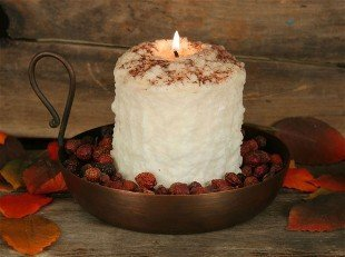 Warm Glow Hearth Candle