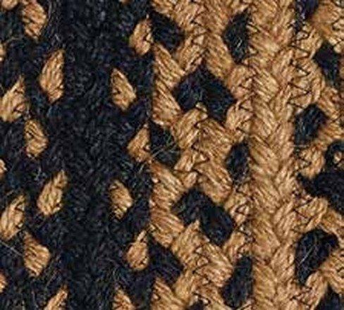 Ebony Braided Rugs by IHF BR180