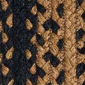 Ebony Braided Rugs by IHF BR180