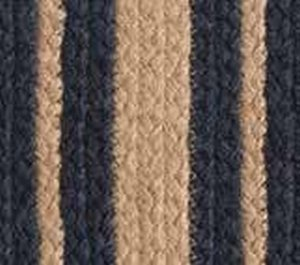 Heritage Blue Braided Rugs by IHF