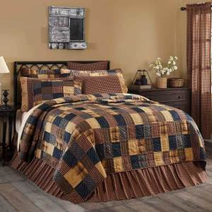Patriotic Patch Quilt by VHC Brands