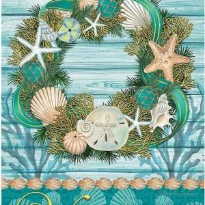 Coastal Style Garden Flags, Doormats and Mailbox Covers