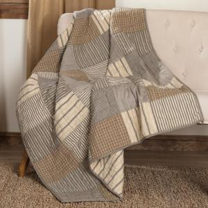 Sawyer Mill Block Quilted Throw by VHC Brands