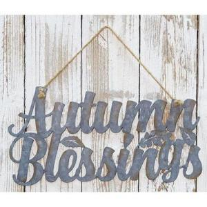 Autumn Blessings Sign