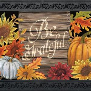 Be Grateful Indoor/Outdoor Doormat