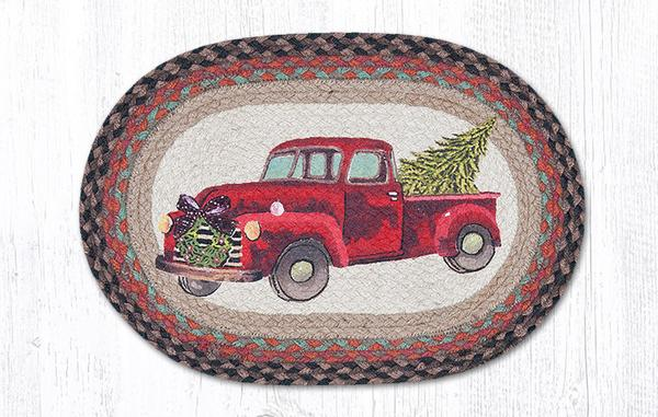Christmas Truck Placemat