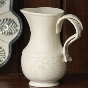 "Dimensions: 8.25""H x 7""W x 5""D, 48oz. Material: Durable Stoneware"