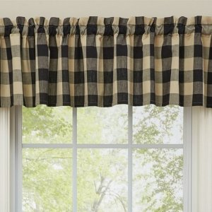 Wicklow Black Window Valance by Park Designs