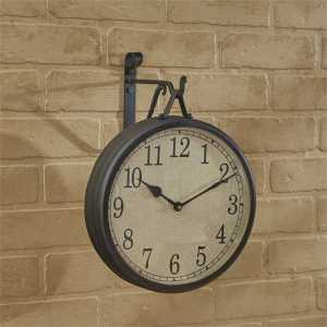 Hanging Clock with Iron Hook