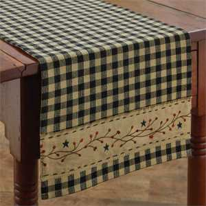 Berry Gingham Table Runner by Park Designs