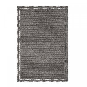 Sheffield Grey Ultra Durable Braided Rugs by Homespice Decor
