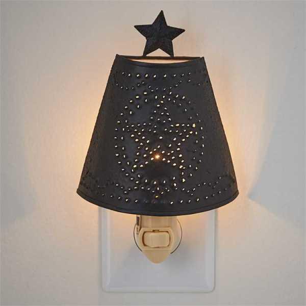 Star Shade Night Light by Park Designs