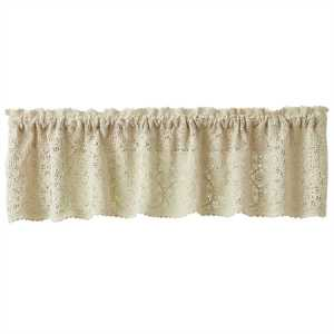 Cream Lace Valance