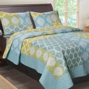 The Avalon Full/Queen Quilt Set
