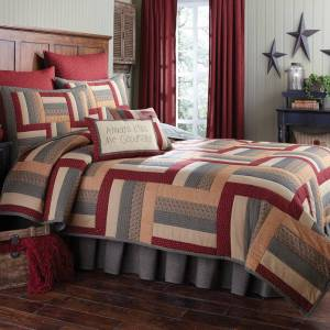Hearth and Home 4 pc Quilt Set by Park Designs