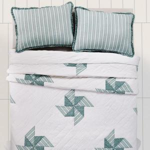 Lighthouse Point Queen Quilt by VHC Brands