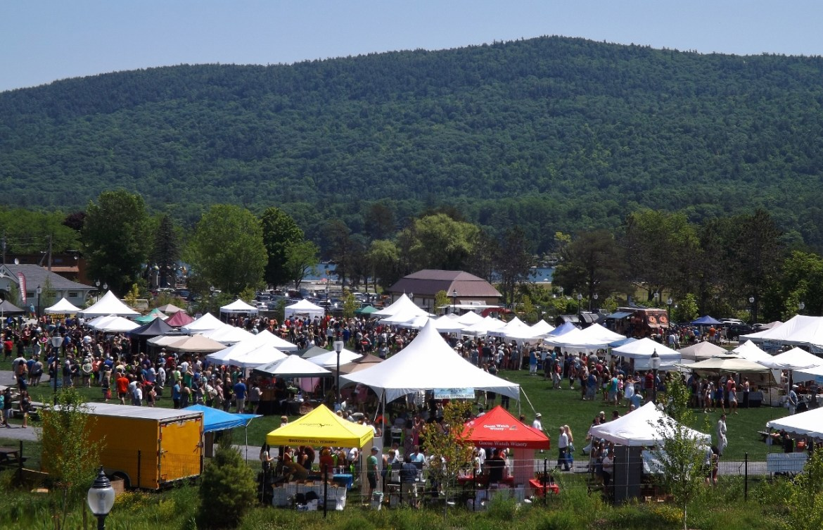 Thousands Attend The Adirondack Wine Food Fest In Lake George