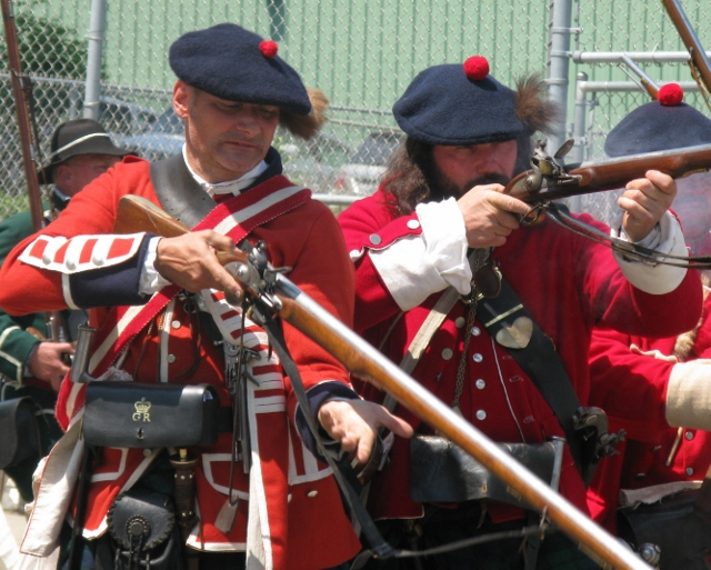 Crossroads of the French and Indian War: Reenactment at