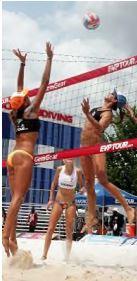 evp beach volleyball