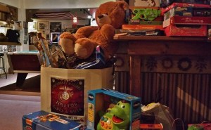 Toys for Girls and Boys toy drive at Backstreet BBQ