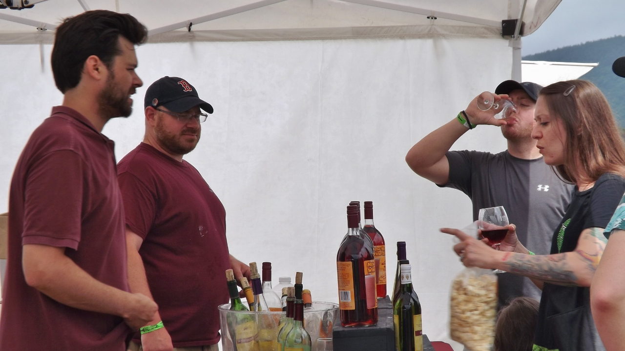 Much More Than Wine Adirondack Wine Food Fest Entertains The