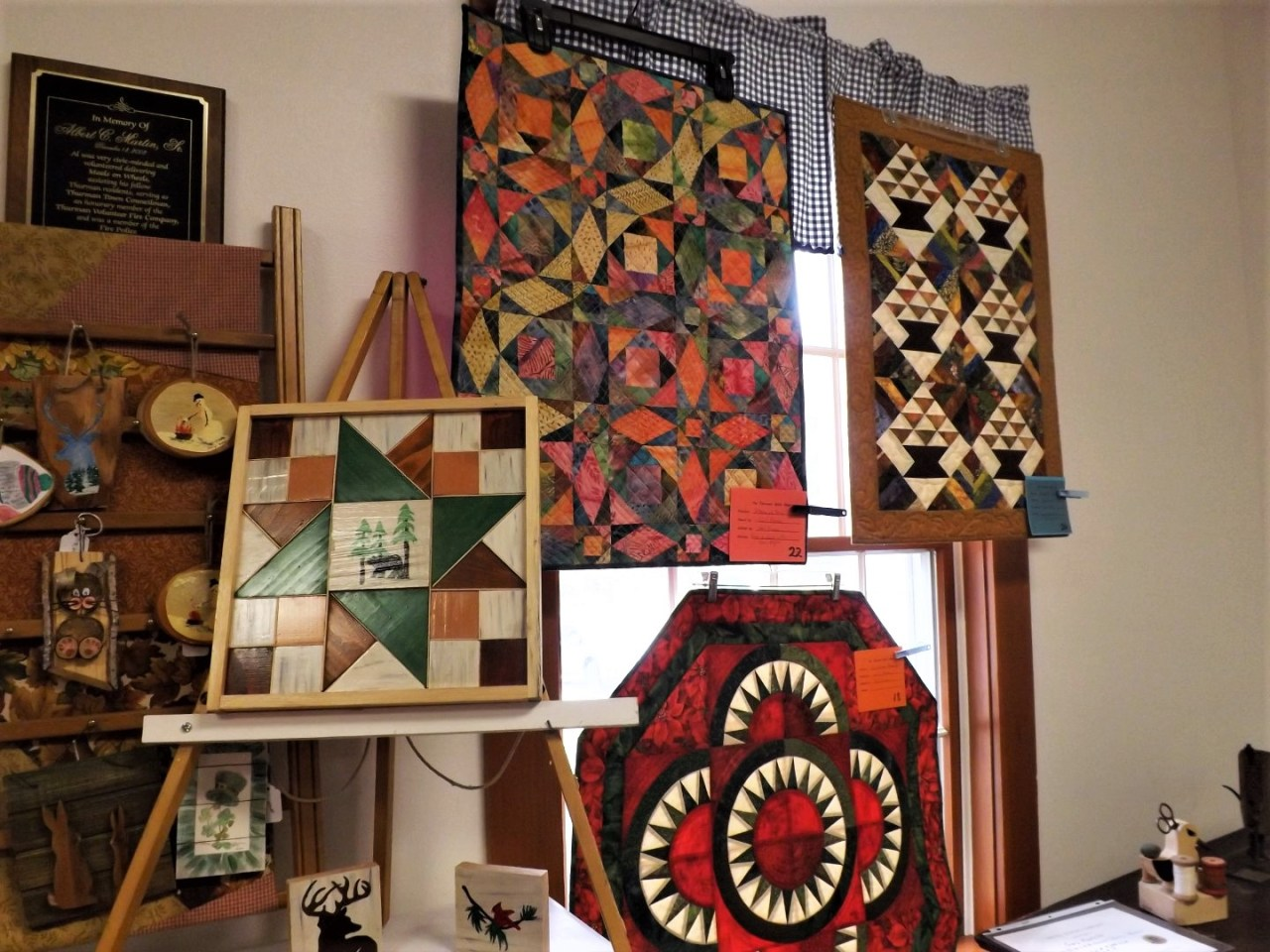 Hand-sewn quilts