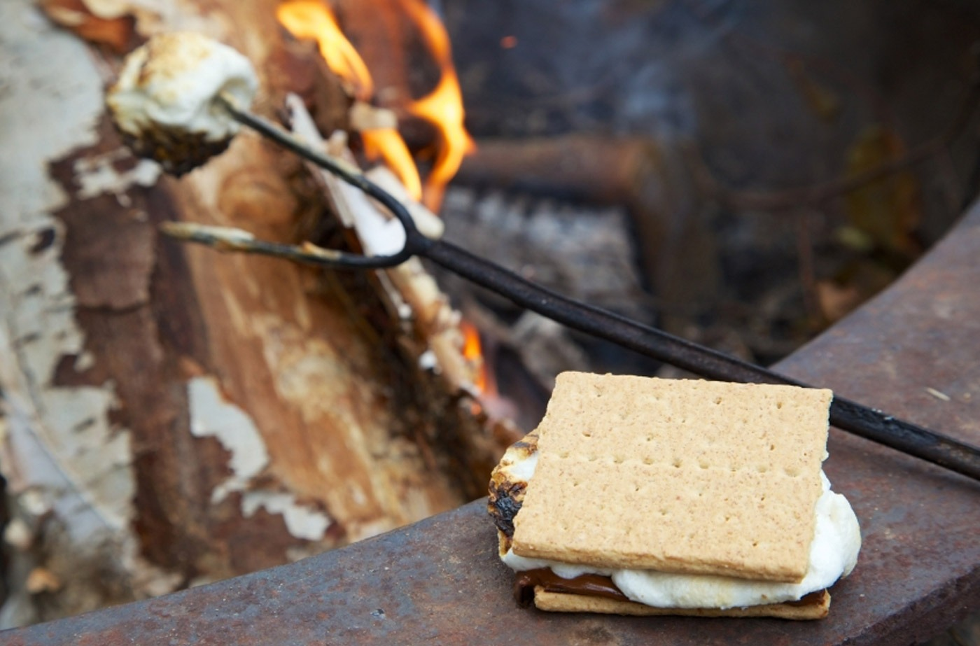 Experience s'mores night on selected evenings during the season