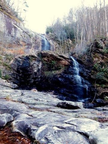 View of High Falls, Lake Glenville, NC