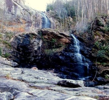 View of High Falls, Lake Glenville, NC