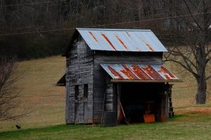 Barn on Cullowhee Glenville WNC