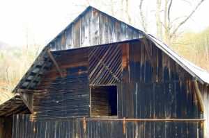 barn siding Cullowhee Mountains Glenville Western Carolina University