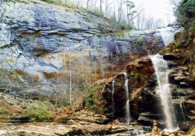 Lake Glenville High Falls