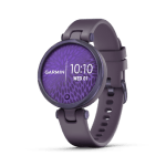 Midnight Orchid Bezel with Deep Orchid Case and Silicone Band
