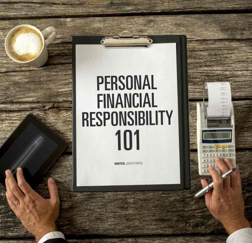 Personal Financial Responsibility 101 Healthy Living