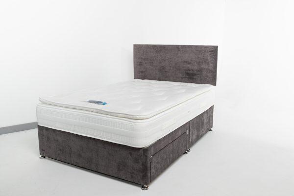 the pillow top hotel mattress