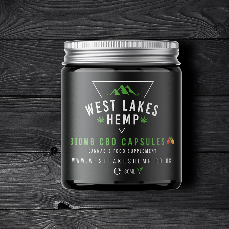 West Lake Hemp 300mg CBD Capsules