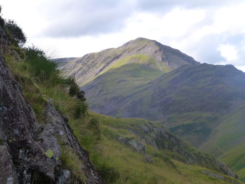 High Crag and Haystacks from Black Sails pass
