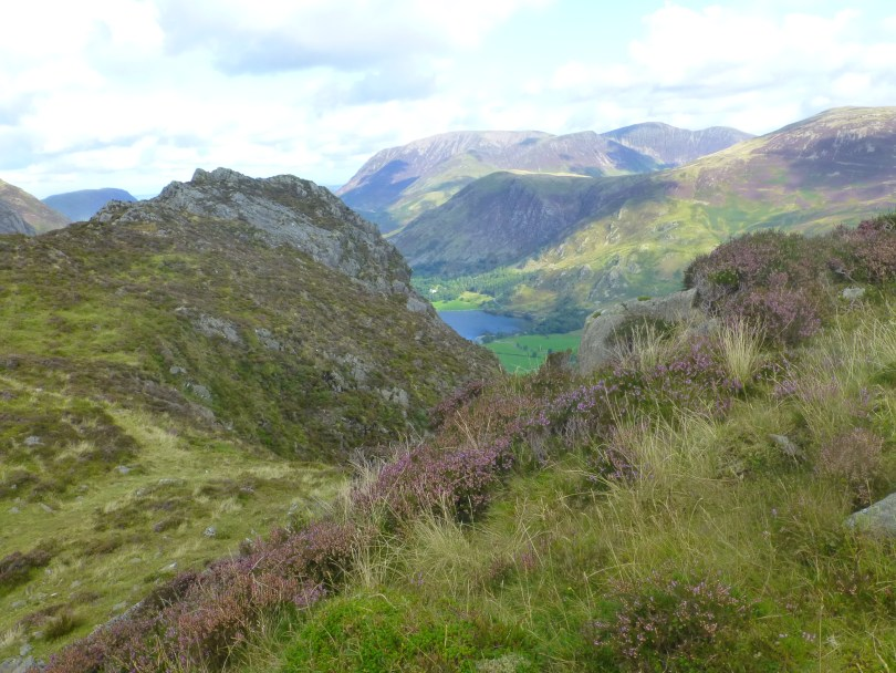 View back to Buttermere from the top of Haystacks
