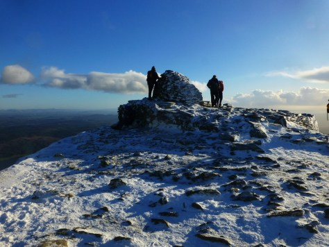 Old Man Summit Cairn
