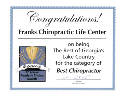 Franks Chiropractic Life Center