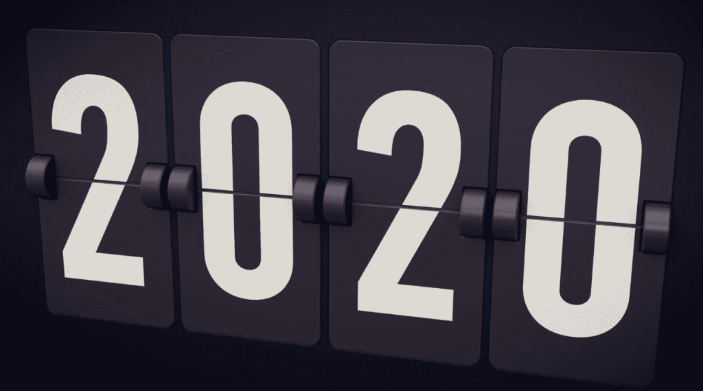 Clock Turns to 2020