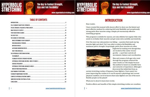 Hyperbolic Stretching Table of Contents