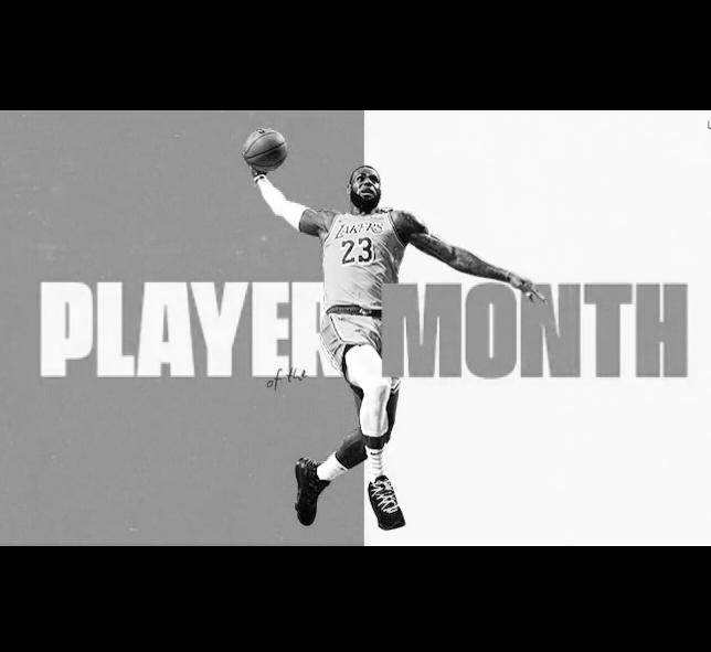 Ayın Oyuncusu LeBron James!