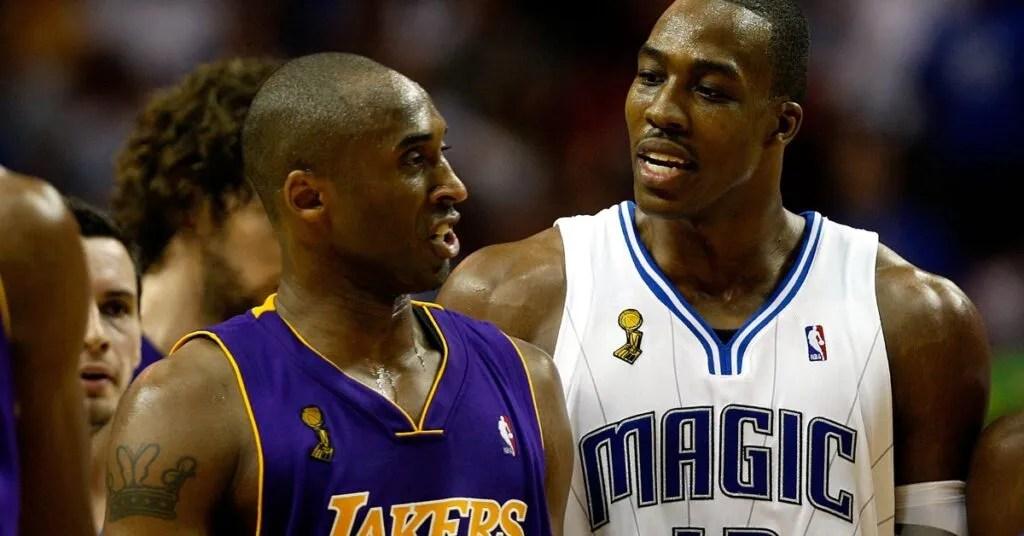 Kobe Bryant and Dwight Howard, NBA Finals
