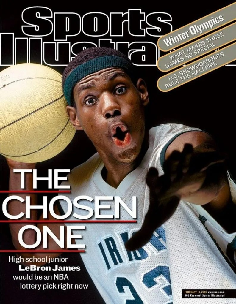 Sports Illustrated Cover, February 18, 2002