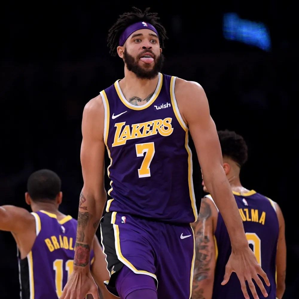 JaVale McGee, Los Angeles Lakers vs Golden State Warriors