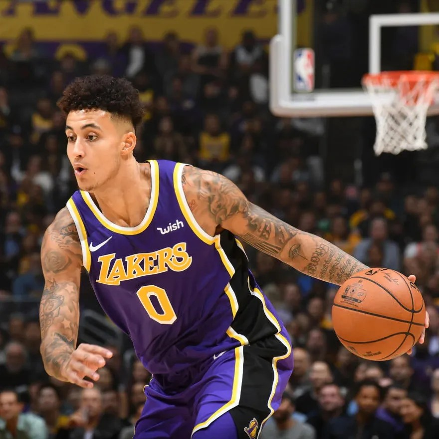 Kyle Kuzma, Los Angeles Lakers vs Golden State Warriors