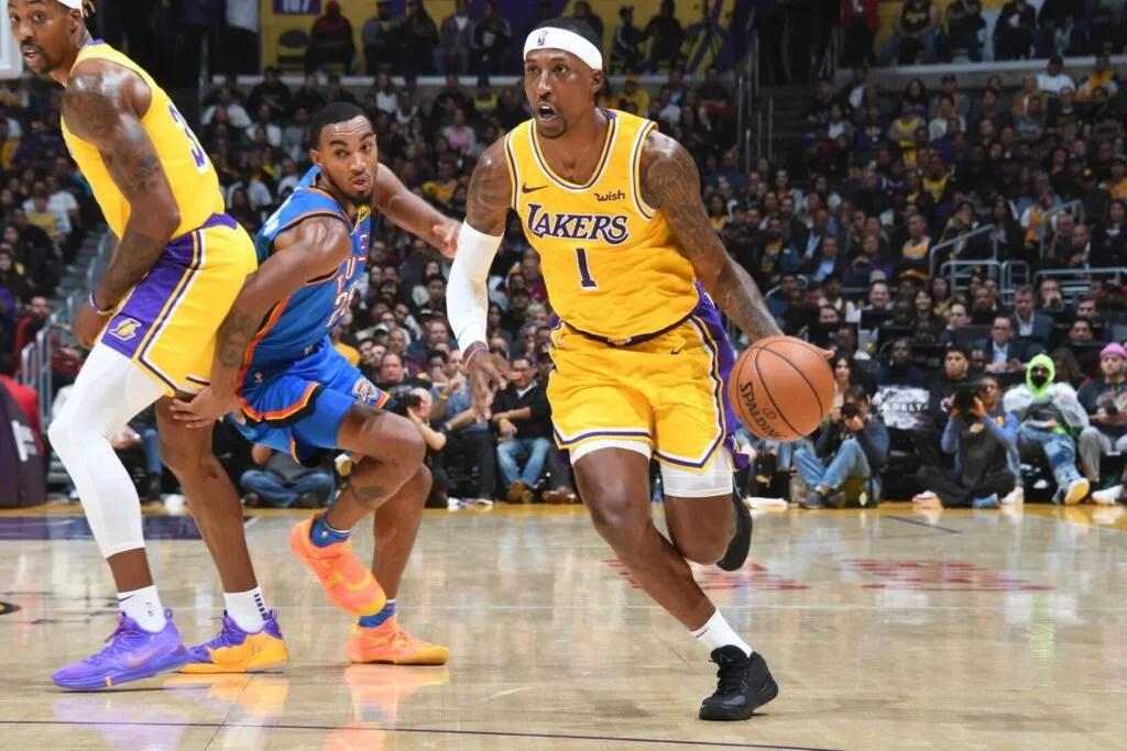 Kentavious Caldwell-Pope, Los Angeles Lakers vs Oklahoma City Thunder