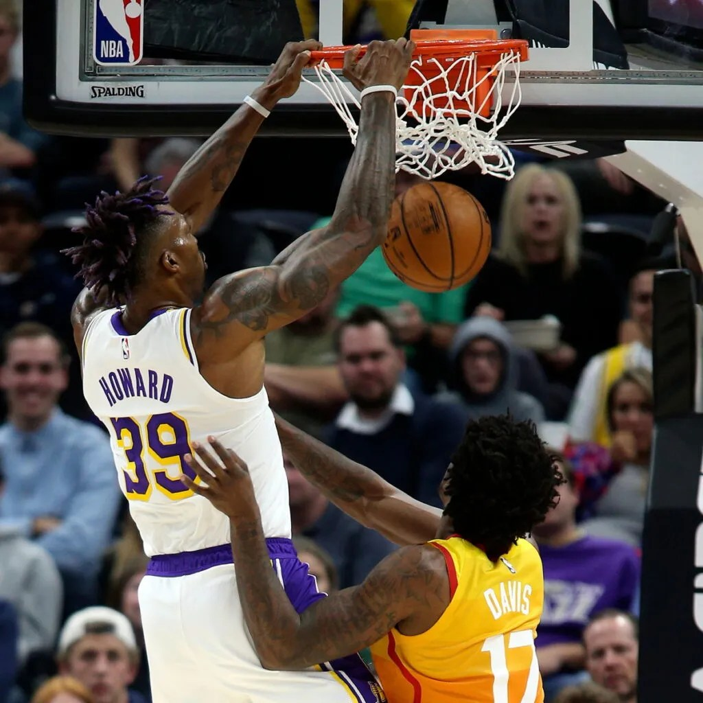 Dwight Howard, Los Angeles Lakers vs Utah Jazz City